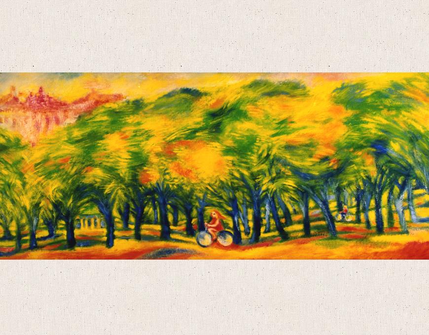 """""""Park"""" 40х91 2002"""