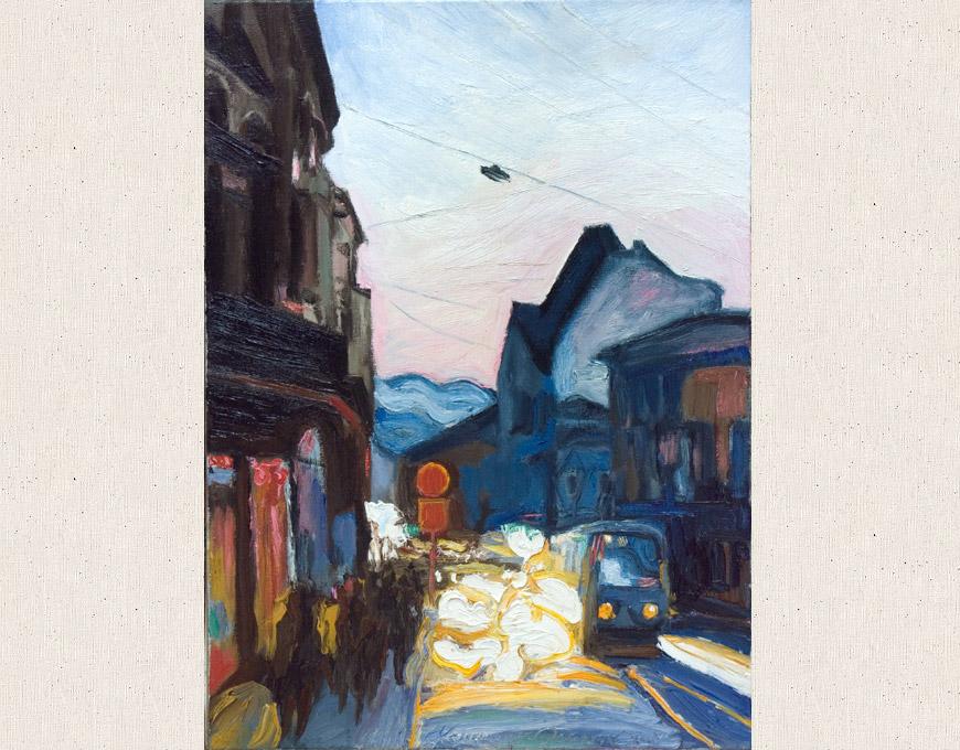 """Street of Ivan Franco"", 50x35 2006"